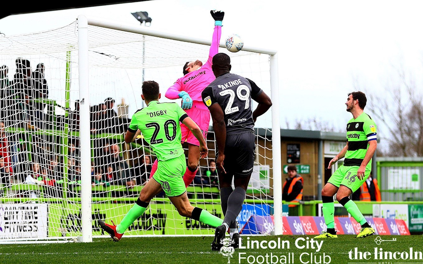 44b6fcee48bde MATCH REPORT  Forest Green Rovers V The Imps - News - Lincoln City